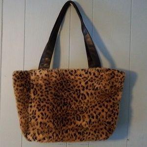 Handbags - Leopard Print Bag